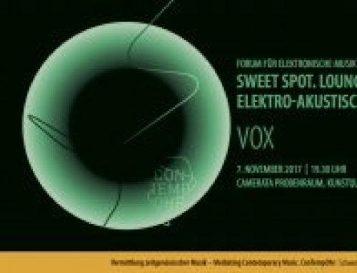 Sweet Spot. Lounge für Elektro-Akustische Musik | Vox