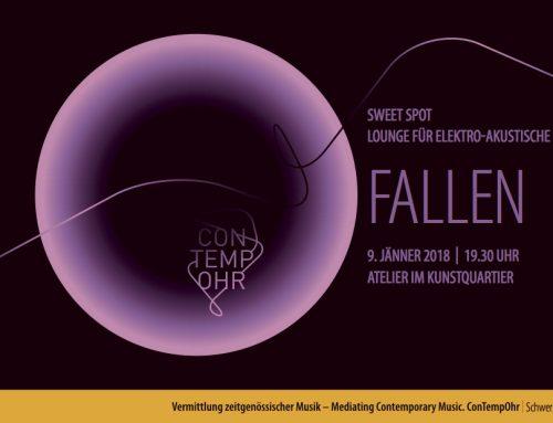Sweet Spot. Lounge für Elektro-Akustische Musik | Fallen