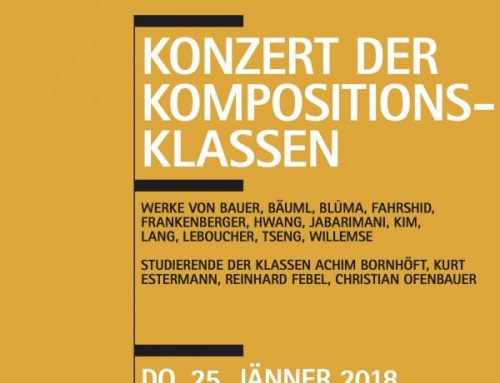 Studienkonzert Komposition