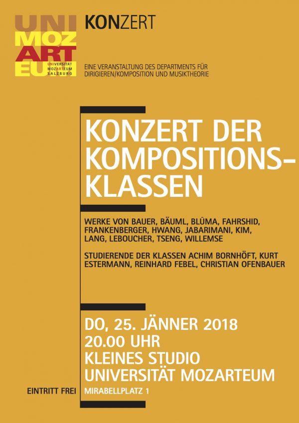 Ofenbauer Salzburg sem studio für elektronische musik universität mozarteum salzburg