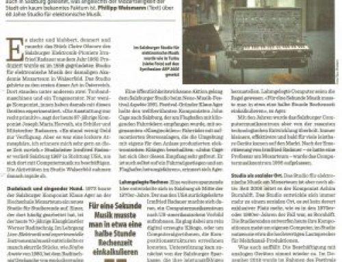 """""""Abseits des Mozart-Kults"""" / Artikel im Augustin"""