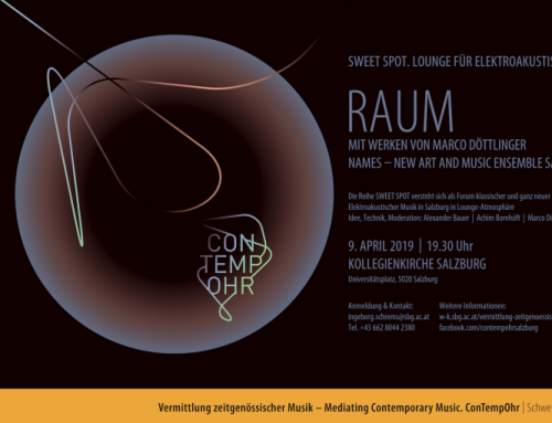 SWEET SPOT / RAUM 9.4.19 / Kollegienkirche