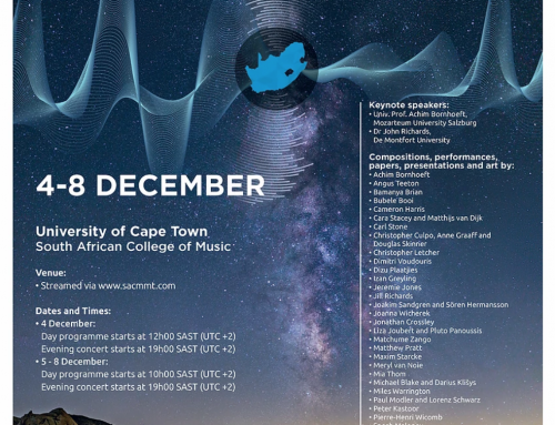 SEM @ bowed electrons festival and symposium | KAPSTADT | 4.-8. Dezember 2020 | online